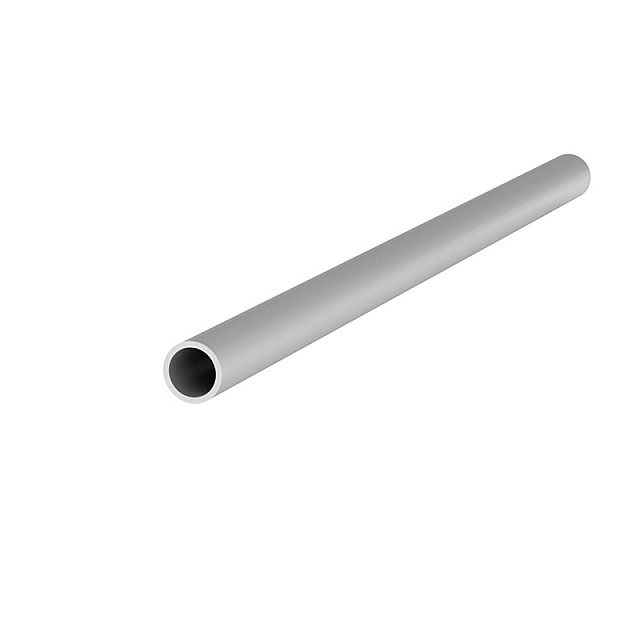 ALUMINUM ROUND TUBE D.10x1mm ANODISED